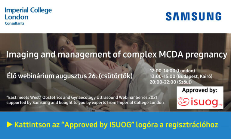 """""""East meets West"""" Obstetrics and Gynaecology Ultrasound Webinar Series 2021 - Imaging and management of complex MCDA pregnancy"""