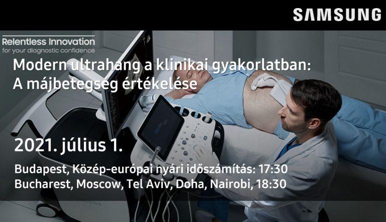Modern ultrahang a klinikai gyakorlatban A májbetegség értékelése