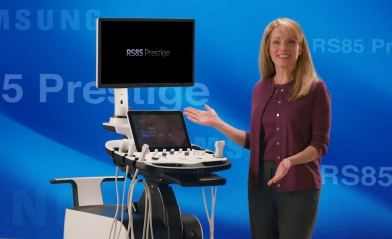 Samsung RS85 Prestige ultrahang készülék – a radiológia csúcsa