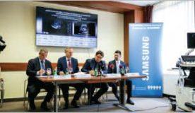 High-tech Samsung HERA W10 ultrahang készülék a Semmelweis Egyetem Női Klinikáján