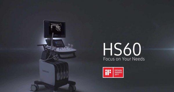 Samsung HS60 típusú 2D, 3D, 4D, 5D ultrahang készülék