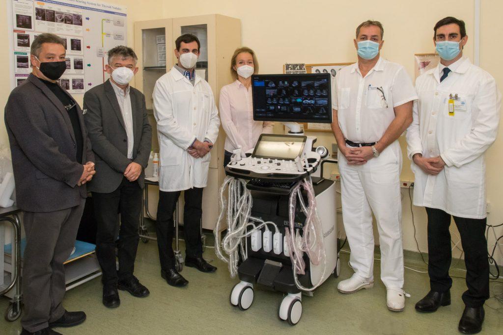 SAMSUNG RS85 Prestige típusú ultrahang készülék Elasztográfiával az Onkológiai Központban