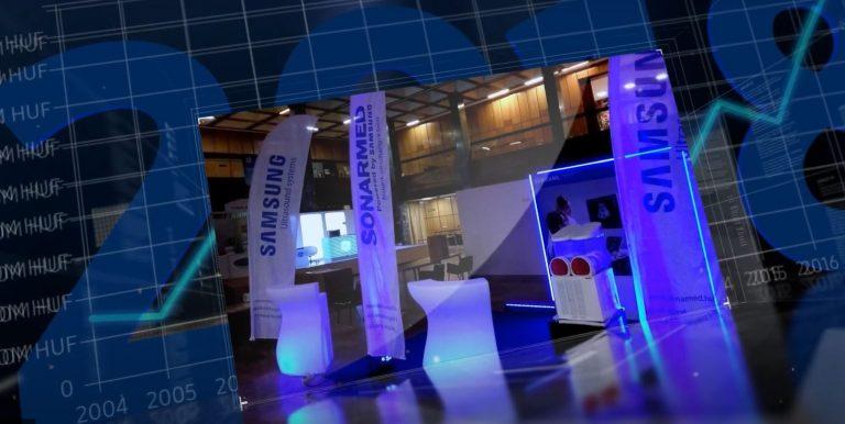 A Sonarmed első 15 éve alig 5 percben - Sonarmed kiállítási stand képe
