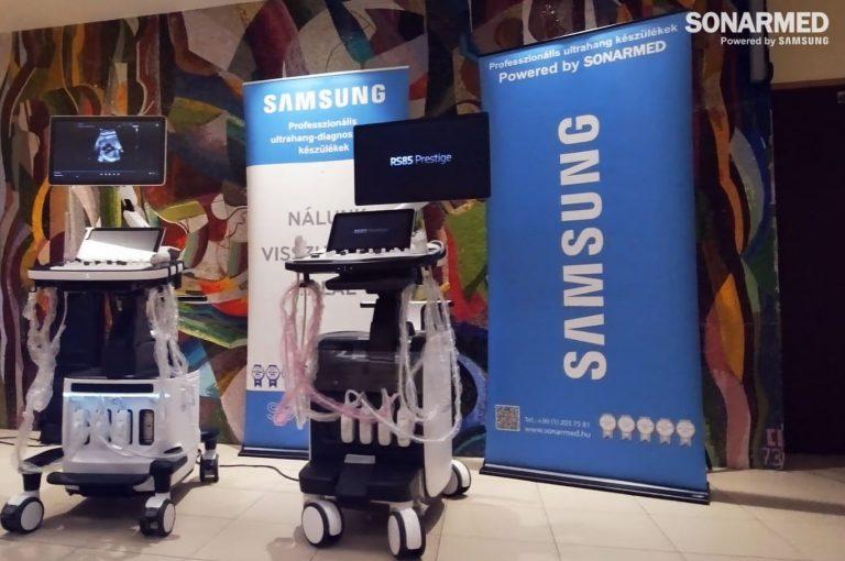 Samsung HERA W9 és Samsung RS85 Prestige prémium kategóriás ultrahang készülékek a Semmelweis Egyetemen