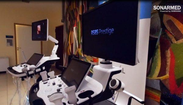 Samsung HERA W9 és RS85 PRestige ultrahang készülékek átadása a Semmelweis Egyetemen