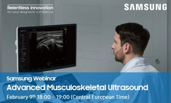 Samsung Webinar – Advanced Musculoskeletal Ultrasound