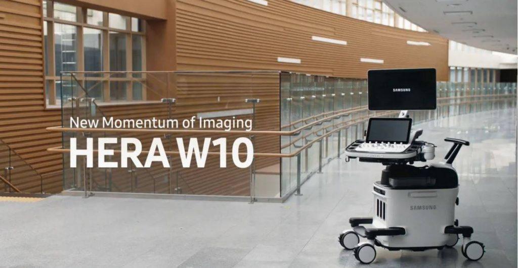 Samsung HERA W10 prémium 2D - 5D ultrahang készülék