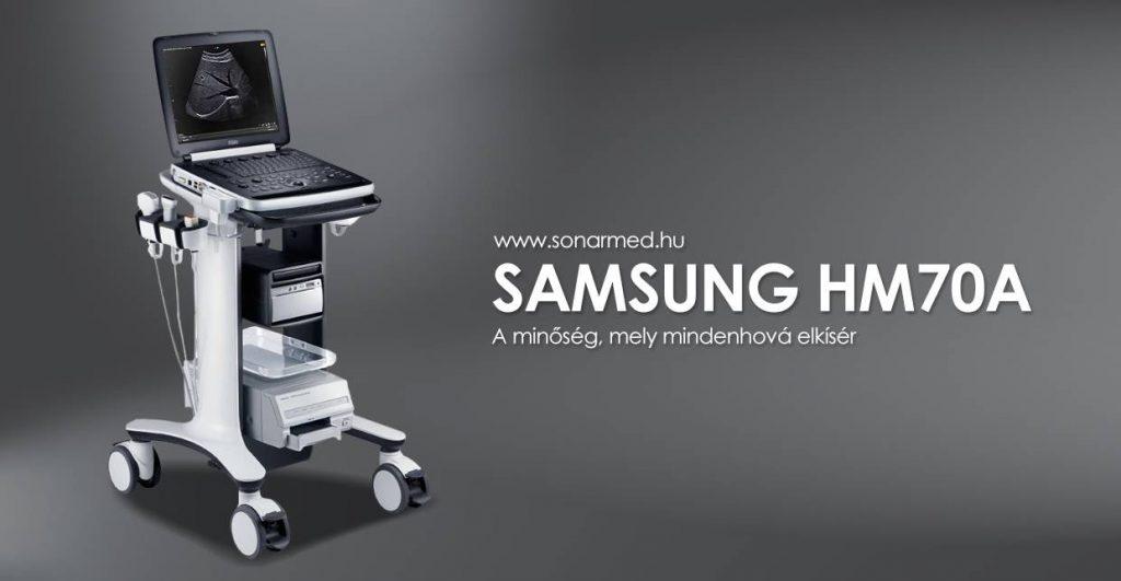 SAMSUNG HM70 hordozható ultrahang készülék