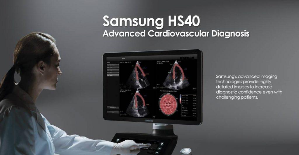 SAMSUNG HS40 ultrahang-diagnosztikai készülék