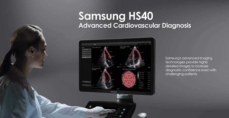 Samsung HS40 ultrahang készülék