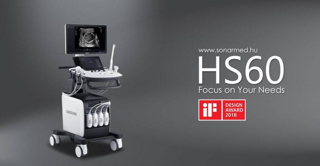 SAMSUNG HS60 típusú 2D/ 3D/ 4D/ 5D multidisciplináris ultrahang-diagnosztikai készülék
